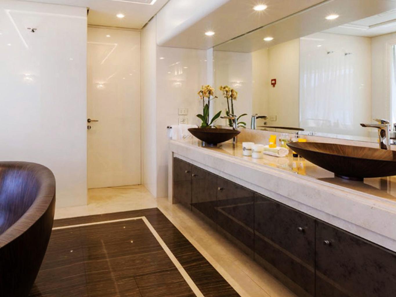 pavimento in marmo alleggerito