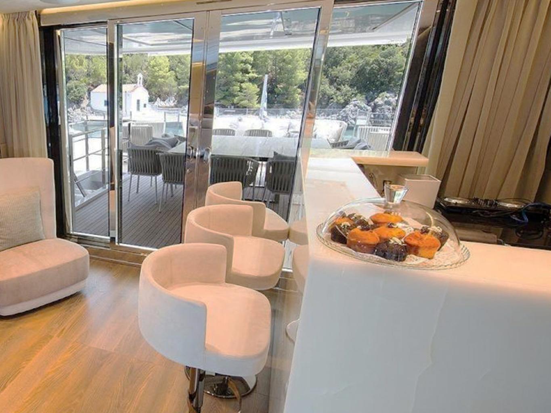 Bancone bar yacht